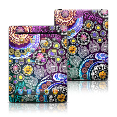 Apple iPad 3 Skin - Mehndi Garden