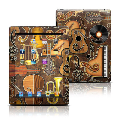 Apple iPad 3 Skin - Music Elements