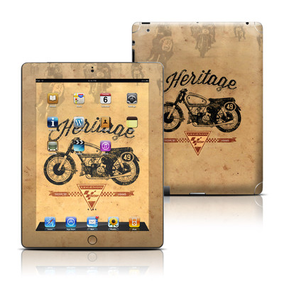 Apple iPad 3 Skin - MotoGP Heritage