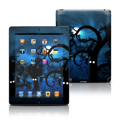Apple iPad 3 Skin - Midnight Forest