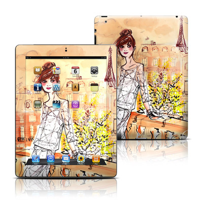 Apple iPad 3 Skin - Mimosa Girl