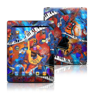 Apple iPad 3 Skin - Music Madness