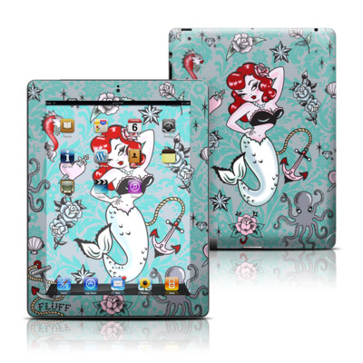 Apple iPad 3 Skin - Molly Mermaid