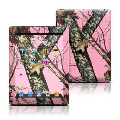 Apple iPad 3 Skin - Break-Up Pink