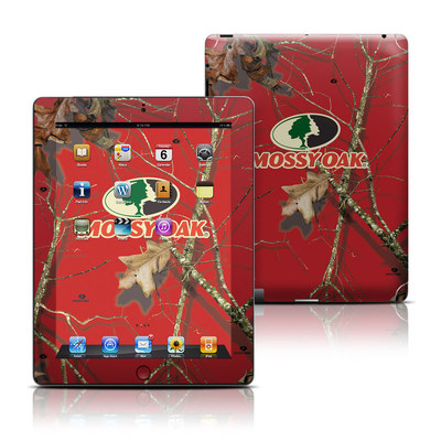 Apple iPad 3 Skin - Break-Up Lifestyles Red Oak