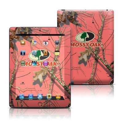 Apple iPad 3 Skin - Break-Up Lifestyles Salmon