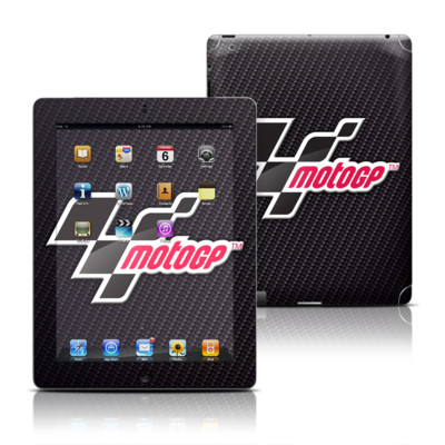 Apple iPad 3 Skin - MotoGP Carbon Logo