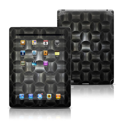 Apple iPad 3 Skin - Metallic Weave