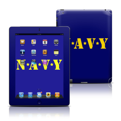 Apple iPad 3 Skin - Navy