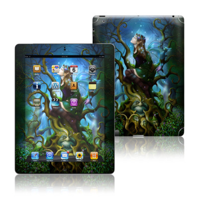 Apple iPad 3 Skin - Nightshade Fairy