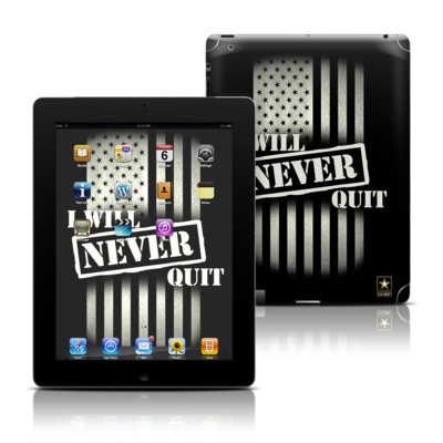 Apple iPad 3 Skin - Never Quit