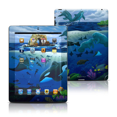 Apple iPad 3 Skin - Oceans For Youth