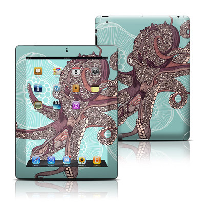 Apple iPad 3 Skin - Octopus Bloom