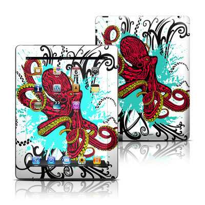 Apple iPad 3 Skin - Octopus