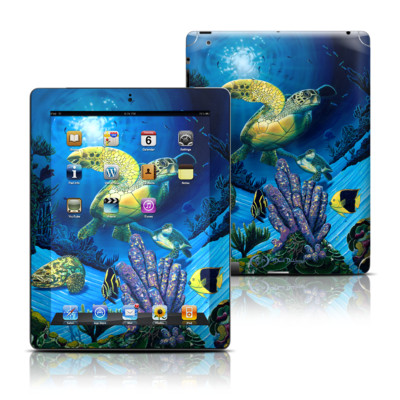 Apple iPad 3 Skin - Ocean Fest