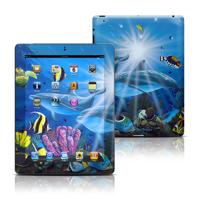 Apple iPad 3 Skin - Ocean Friends