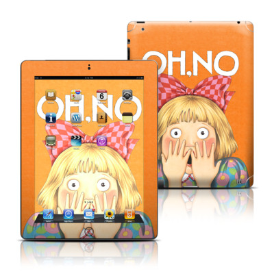 Apple iPad 3 Skin - Oh No