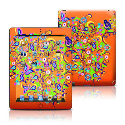 Apple iPad 3 Skin - Orange Squirt