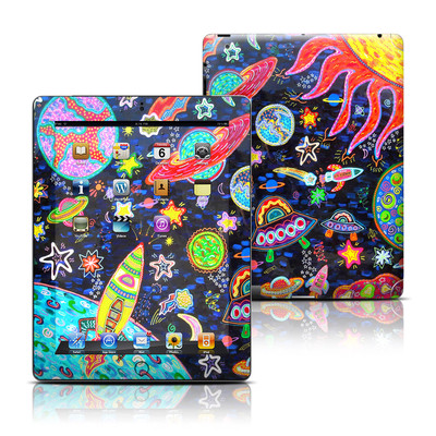Apple iPad 3 Skin - Out to Space