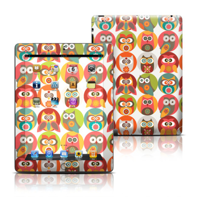 Apple iPad 3 Skin - Owls Family