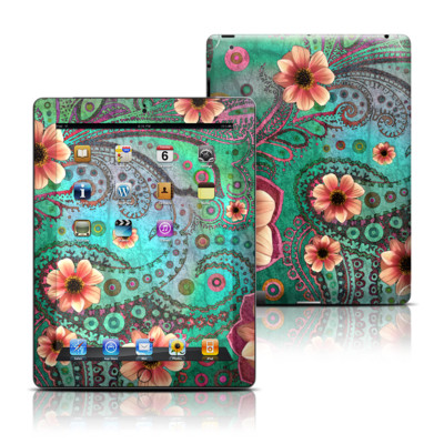 Apple iPad 3 Skin - Paisley Paradise