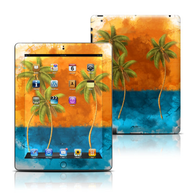 Apple iPad 3 Skin - Palm Trio