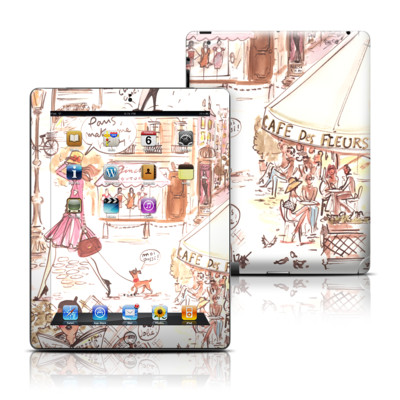 Apple iPad 3 Skin - Paris Makes Me Happy