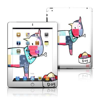 Apple iPad 3 Skin - Patch Dog