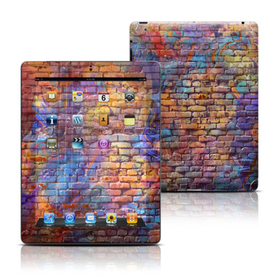 Apple iPad 3 Skin - Painted Brick