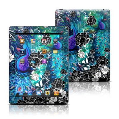 Apple iPad 3 Skin - Peacock Garden