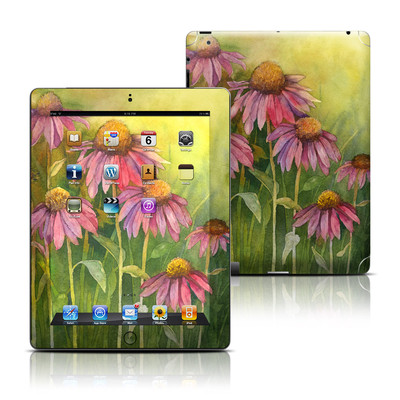 Apple iPad 3 Skin - Prairie Coneflower