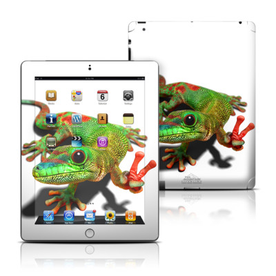Apple iPad 3 Skin - Peace Gecko