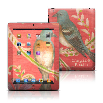 Apple iPad 3 Skin - Fresh Picked Fuschia