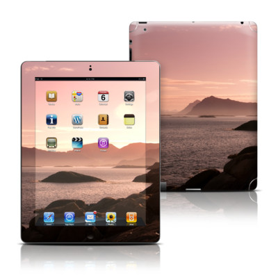 Apple iPad 3 Skin - Pink Sea