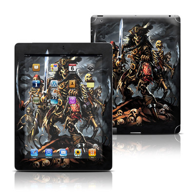 Apple iPad 3 Skin - Pirates Curse