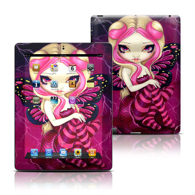 Apple iPad 3 Skin - Pink Lightning