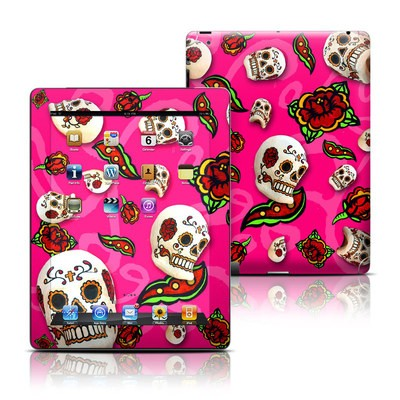 Apple iPad 3 Skin - Pink Scatter