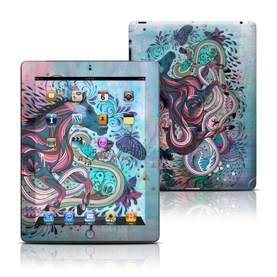 Apple iPad 3 Skin - Poetry in Motion