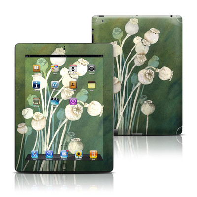 Apple iPad 3 Skin - Poppy Pods
