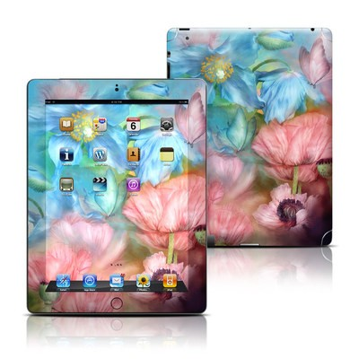 Apple iPad 3 Skin - Poppy Garden