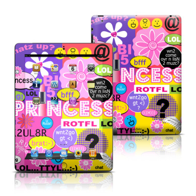 Apple iPad 3 Skin - Princess Text Me