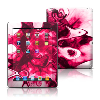 Apple iPad 3 Skin - Pink Splatter