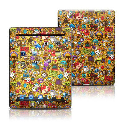 Apple iPad 3 Skin - Psychedelic