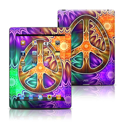 Apple iPad 3 Skin - Peace Triptik