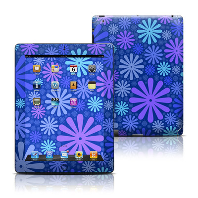Apple iPad 3 Skin - Indigo Punch