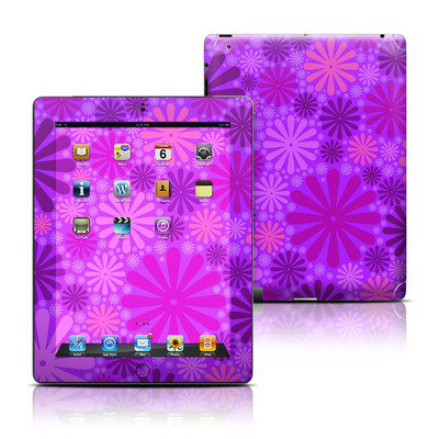 Apple iPad 3 Skin - Purple Punch