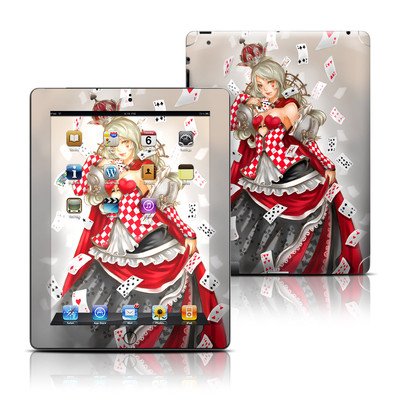 Apple iPad 3 Skin - Queen Of Cards