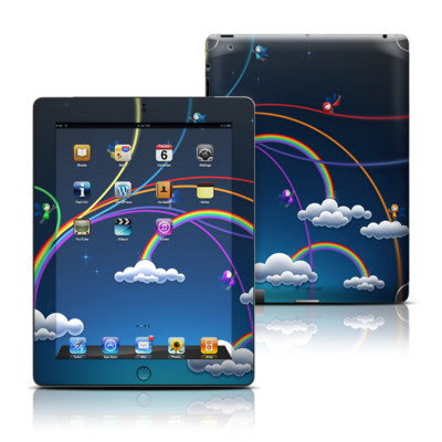 Apple iPad 3 Skin - Rainbows
