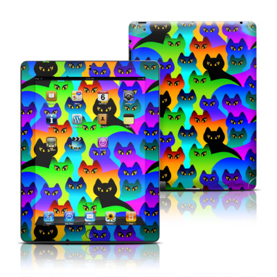 Apple iPad 3 Skin - Rainbow Cats
