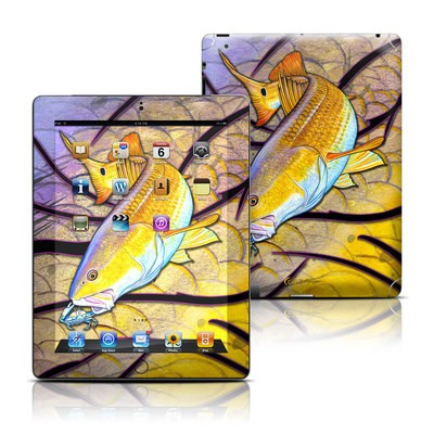 Apple iPad 3 Skin - Red Fish